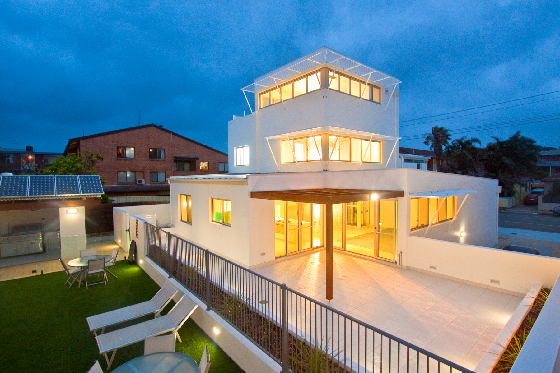 White House – high end residential