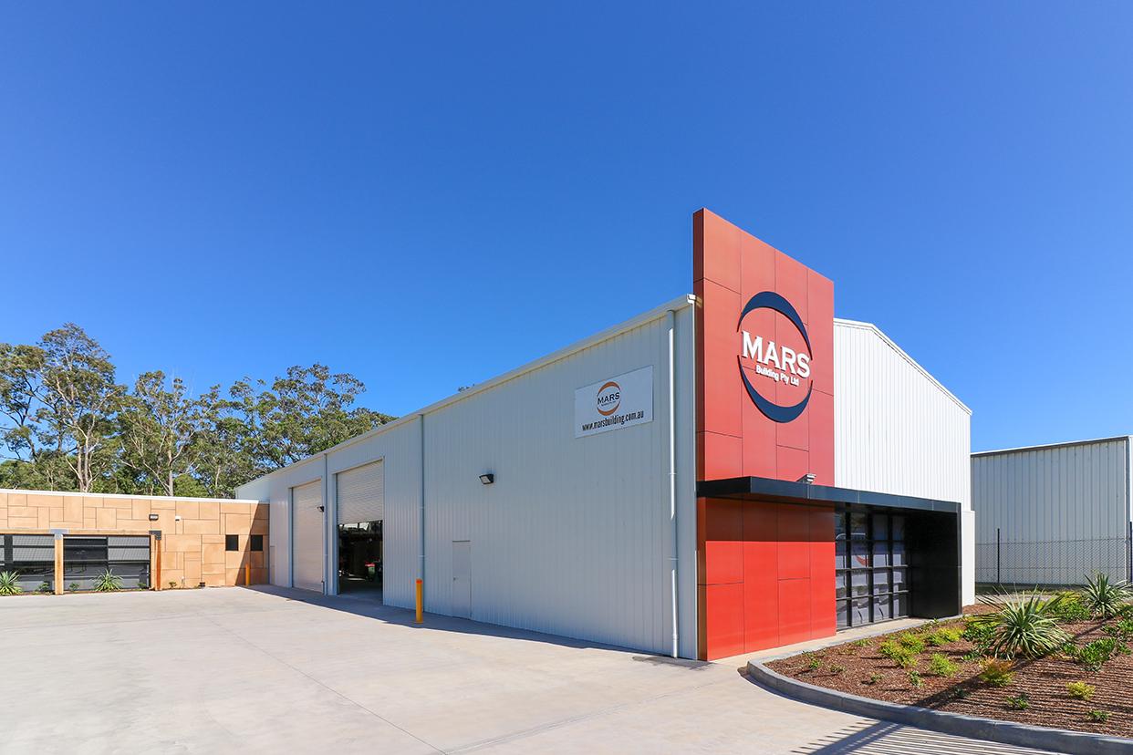 MARS Building head office, Beresfield
