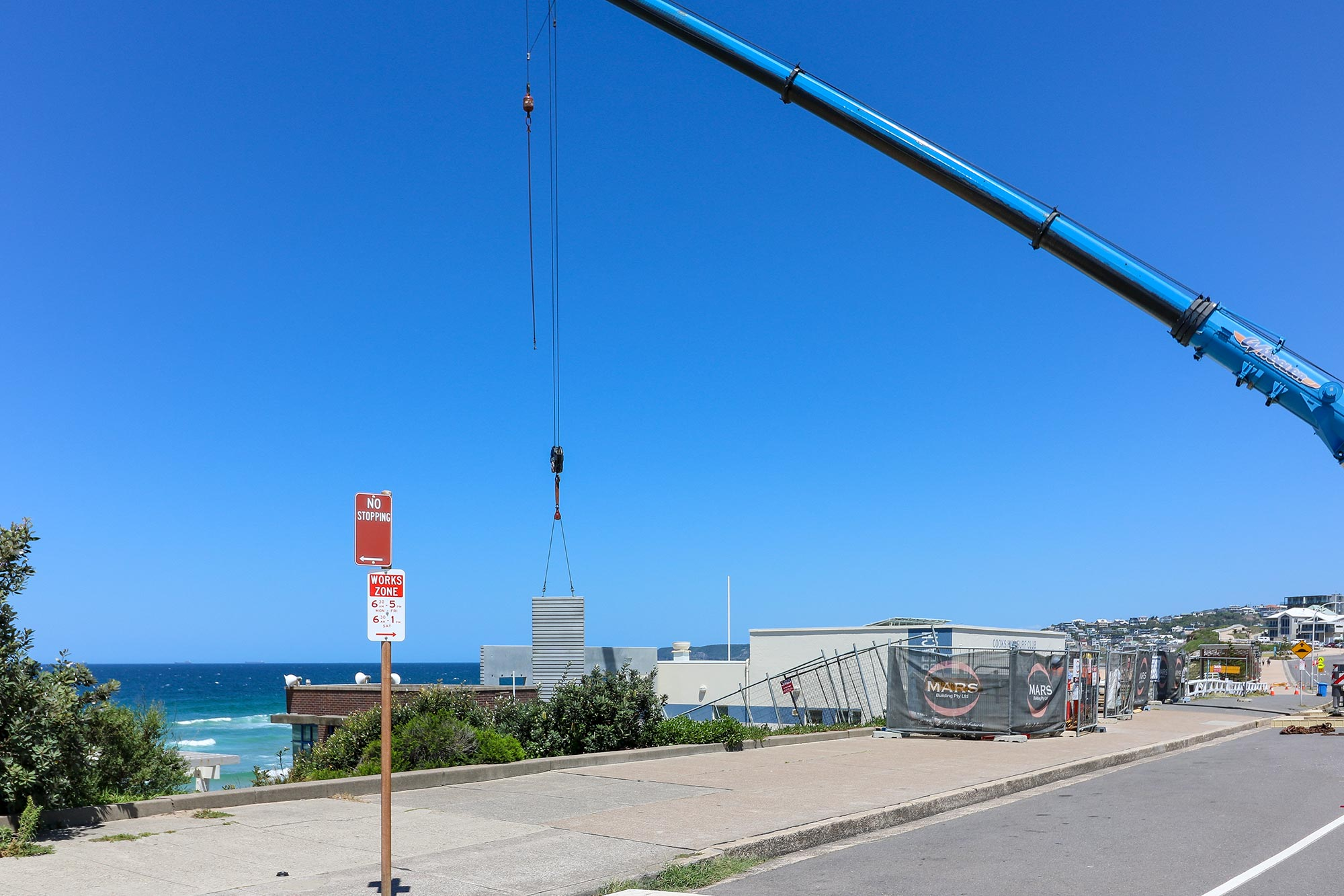 Cooks Hill Surf Club Construction by MARS Building